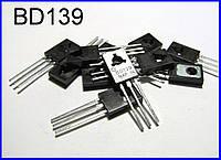BD139, n-p-n транзистор.