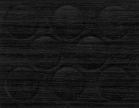 Минификс  заглушка 20 мм гасиенда черная ABS 741 самоклеющаяся  (8 шт)