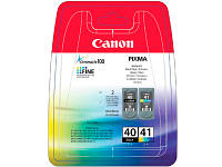 Картридж CANON (PG-40/CL-41) PIXMA iP-1600/2200/MP-150/170/450 MultiPack (0615B043)