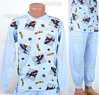 Детская пижама на мальчика интерлок AYL D32 6-R. Размер на 6 лет.