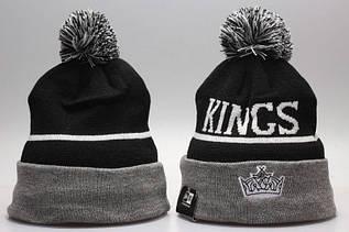 Шапка зимняя Los Angeles Kings / SPK-294 (Реплика)