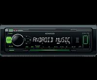 Автомагнитола Kenwood KMM-102GY Green