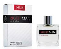 Dilis Parfum Right Man мужская туалетная вода 100 мл