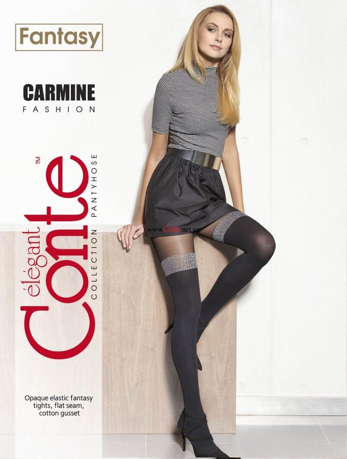 Колготки жіночі Conte Fantasy Carmine 50 Den (Конте Фентезі Кармін 50 ден), розмір 2-4, Білорусія