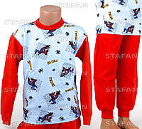 Детская пижама на мальчика интерлок AYL D33 4-R. Размер на 4 года.