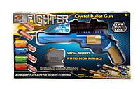 Игрушечный пистолет  з паралон. і водяними кулями (коробка) j0102