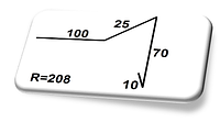Торцевая планка-2
