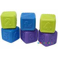 Набор кубиков 6 шт Baby Team 8852