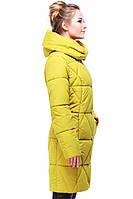 Пальто зимнее разм. 42,44,46,48,50,52,54 горчица