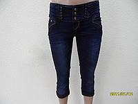 Бриджи джинсовые женские W2216