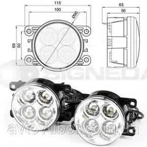 Фара дневного света Ford Focus 11-- ZRN2007(MM)L/R