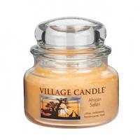"""Ароматическая свеча в стекле Village Candle """"Африканское сафари"""". 315 гр/ 55 часов"""