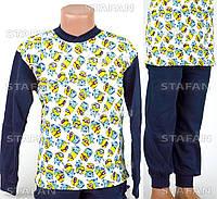 Детская пижама на мальчика интерлок AYL D35 5-R. Размер на 5 лет.