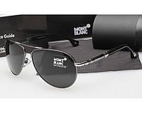 Солнцезащитные очки в стиле Montblanc (5512) silver, фото 1