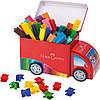 Фломастеры Connector в подарочной упаковке в виде машинки, 33 цвета