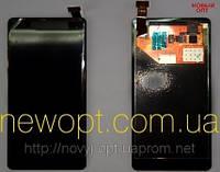 Дисплей Nokia 800 Lumia (N800) с тачскрином. Особенности ремонта. Оригинал.