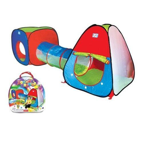 Большая детская палатка с тоннелем! - Viktormilan в Львове
