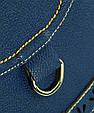 Сумка через плече з екошкіри Traum 7215-43, синій, фото 5