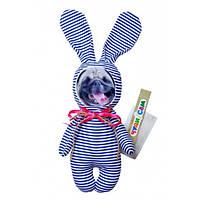 """*Мягкая игрушка """"Мопс на пижамной вечеринке"""" арт. 011"""
