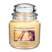 """Ароматическая свеча в стекле Village Candle """"Праздник"""". 455 гр/ 105 часов"""