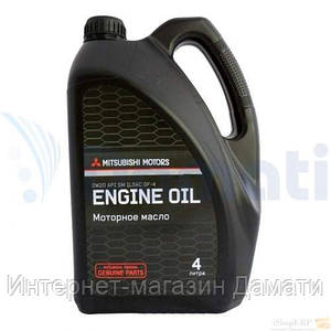 Масло моторное MITSUBISHI Engine Oil 0W-20 4л MZ320724