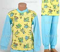 Детская пижама на мальчика интерлок AYL D39 4-R. Размер на 4 года.