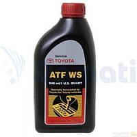 Масло трансмиссионное TOYOTA ATF WS 0.946л 00289ATFWS