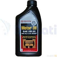 Масло моторное TOYOTA MOTOR OIL SM 5W-20 1л 002791QT20