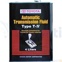 Масло трансмиссионное TOYOTA ATF Type T-IV 4л 0888681015