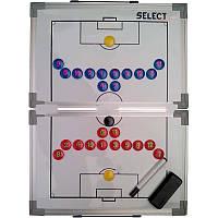 Доска тактическая складная для футбола Select Tactics Board Foldable - Football 60х45 см