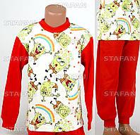 Детская пижама на мальчика интерлок AYL D40 6-R. Размер на 6 лет.