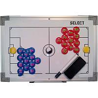 Тактическая доска SELECT Tactic Board - Football 30(60)x45см