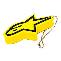 Брелок Alpinestars FLOATER Keychain hi vis yellow, арт. 1012-94002 550, арт. 1012-94002 550