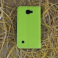 Чехол-книжка для LG K4 K130E Зелёный Goospery