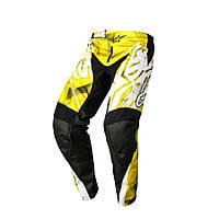 """Брюки Alpinestars RACER текстиль yellow/black """"L""""(34), арт. 3721514 51, арт. 3721514 51"""