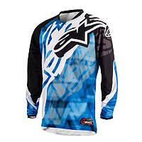 "Джерси Alpinestars RACER текстиль blue\black ""M""(32), арт. 3761514 71, арт. 3761514 71"
