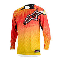 "Джерси Alpinestars CHARGER текстиль orange\red\yellow ""L""(34), арт. 3761214 435, арт. 3761214 435"