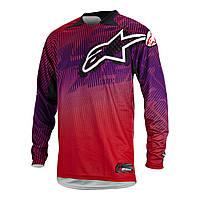 "Джерси Alpinestars CHARGER текстиль red\purple ""L""(34), арт. 3761214 383, арт. 3761214 383"