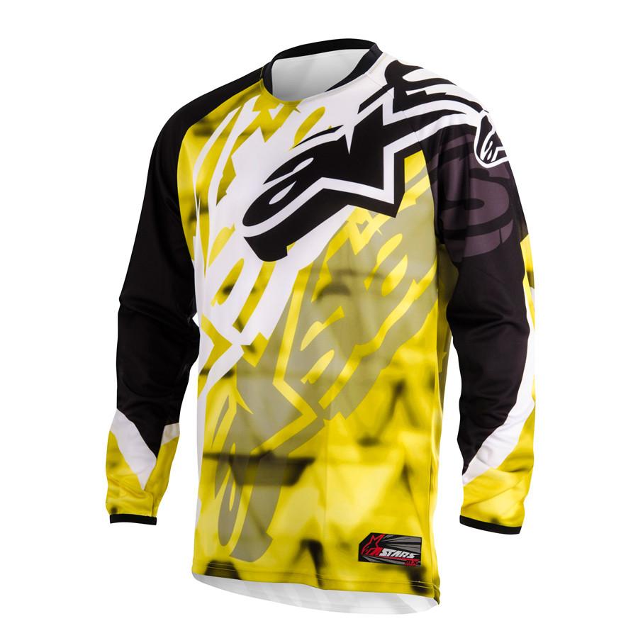 """Джерси Alpinestars RACER текстиль yellow\black """"L""""(34), арт. 3761514 51, арт. 3761514 51"""