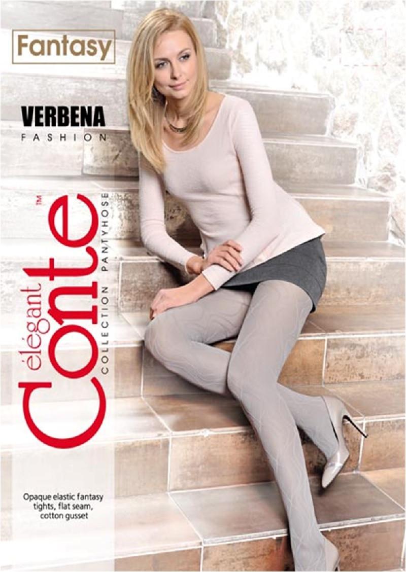 Колготки жіночі Conte Fantasy Verbena 50 Den (Конте Фентезі  Вербена 50 ден), розмір 2-4, Білорусія
