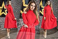 Миди женское платье с вырезом не спине