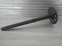 Дюбель 10х160 зонт для крепления минеральной ваты с пластиковым гвоздём