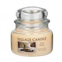 """Ароматическая свеча в стекле Village Candle """"Уютный дом"""". 315 гр/ 55 часов"""