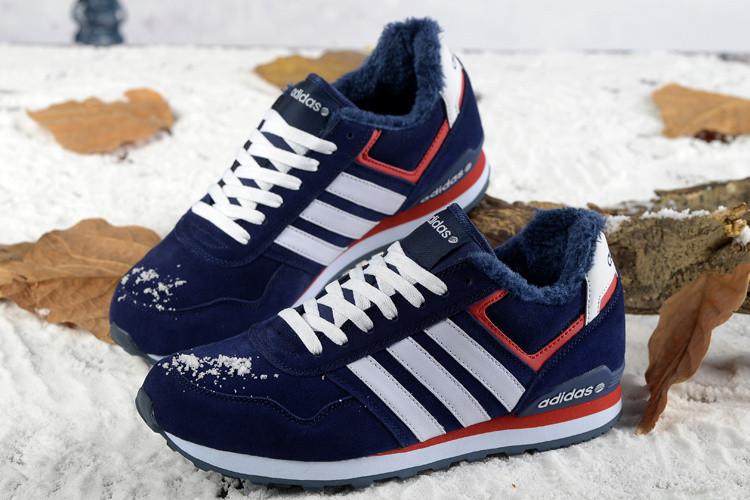 Кроссовки мужские зимние Adidas NEO / WNTR-210 (Реплика)
