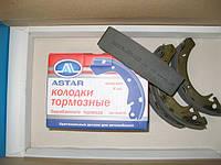 Колодки тормозные задние ваз 2108-2115,2170-72,1117-19 (без abs) Астар