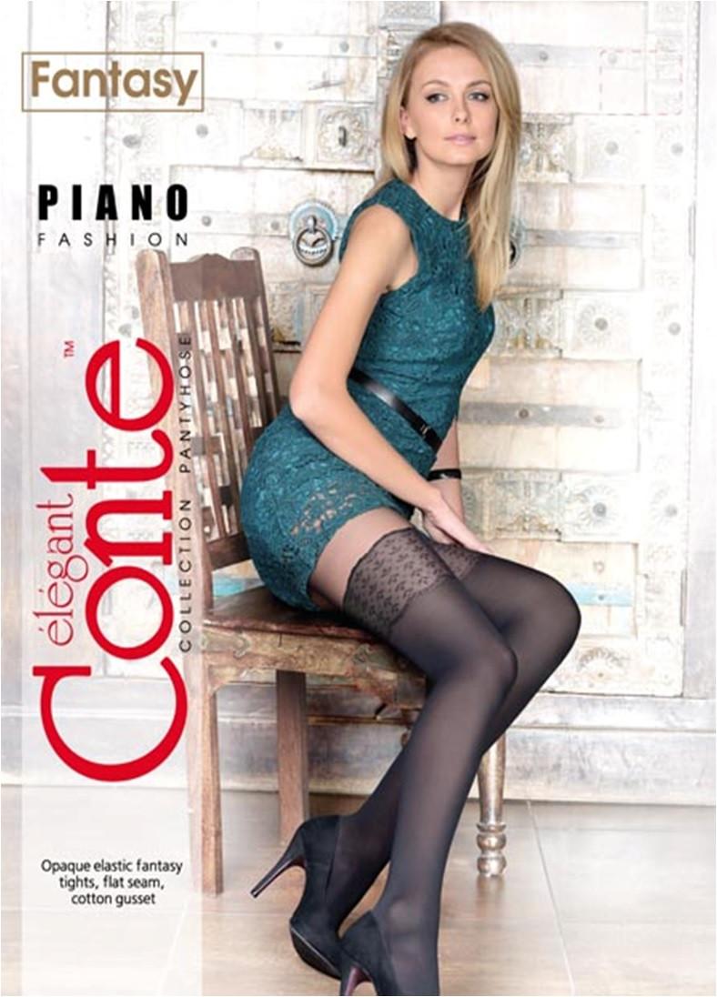 Колготки жіночі Conte Fantasy Piano 50 Den (Конте Фентезі Піано 50 ден), розмір 2-4, Білорусія