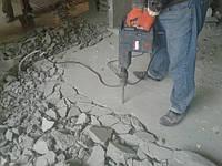 Демонтаж стяжки пола Демонтаж цементной стяжки Демонтаж штукатурки, фото 1