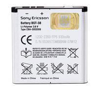 Аккумулятор Sony Ericsson BST-38 C510i, C902i, C905i, F100i, K770i, K850i, R300i, R306i, S312i (930 mAh)