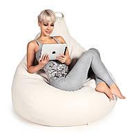 Кресло-мешок груша/Эко-кожа/Средний размер/С дополнительным чехлом