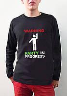 "Мужская футболка ""Party in progress"""